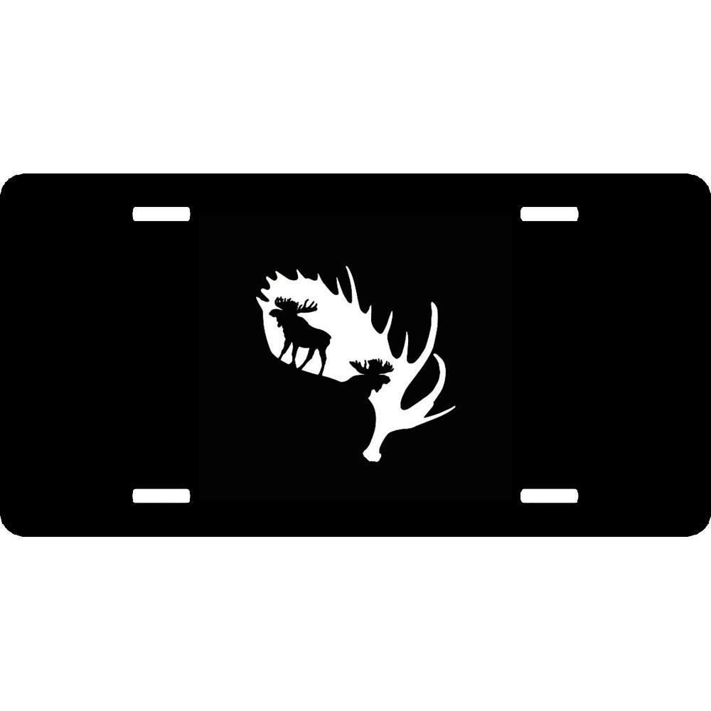 12 X 6 URCustomPro Personalized Novelty Front License Plate Cover Decorative Vanity Humor Funny Aluminum Metal Car Tag with 4 Holes