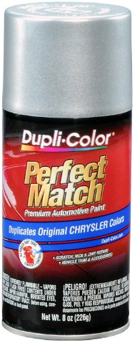 Neon Chrysler (Dupli-Color EBCC0410 Bright Silver Metallic Chrysler Perfect Match Automotive Paint - 8 oz. Aerosol)