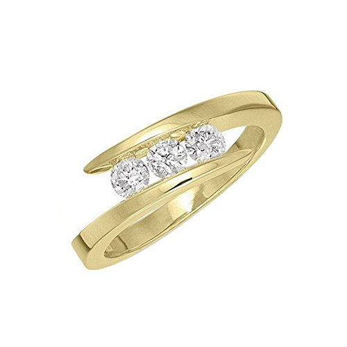 3 Diamond Promise Ring 1/2 ct.