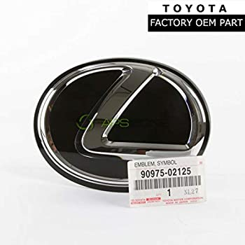 90975-02080 GENUINE FRONT GRILLE EMBLEM FOR LEXUS IS250 IS350