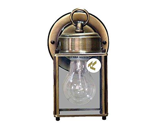 Antique Brass Porch Light in US - 9