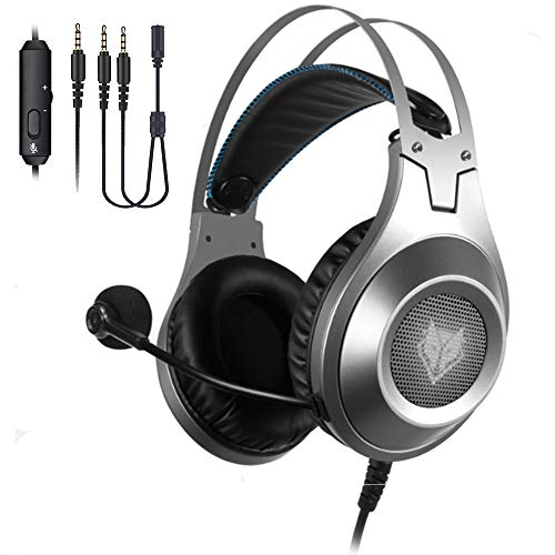 NUBWO Xbox One PS4 Gaming Headset Over-Ear Stereo Gaming Headphone PC Gaming Headset with Microphone for Xbox One PlayStation 4 PC Computer Nintendo Switch Smartphone
