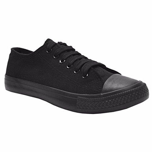 MYSHOESTORECanvas Shoes - zapatilla baja mujer Nero (Tutto nero)