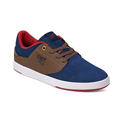 DC Shoes - Zapatillas de skateboarding para hombre Navy/Dk Chocolate