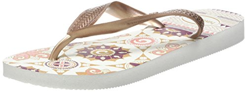 Havaianas white rose Mujer Gold Spring Chanclas Para Gold Rosa rose aqnw1afxrY