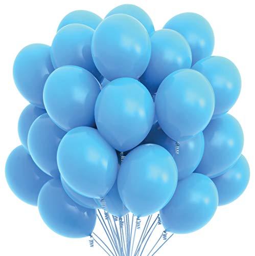 big light blue balloons - 1
