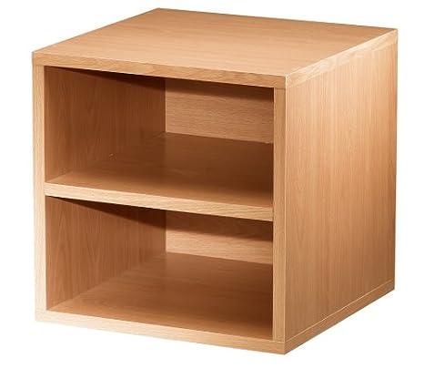Foremost 327309 Modular Shelf Cube Storage System, Espresso
