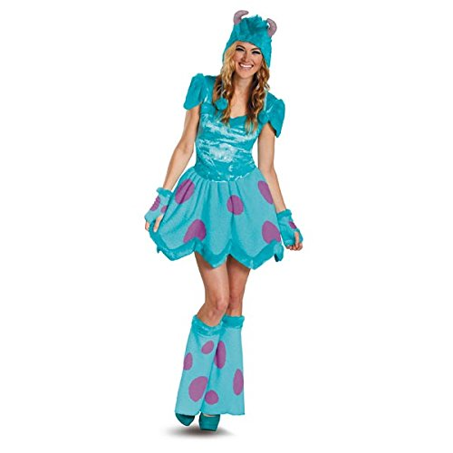 [Disguise Disney Pixar Monsters University Sassy Sulley Womens Adult Costume, Blue/Purple,] (Monsters Inc Costumes)