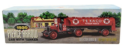 - 1920 PIERCE ARROW CAB WITH TANKER COLLECTOR SERIES 16 DIE CAST METAL BANK