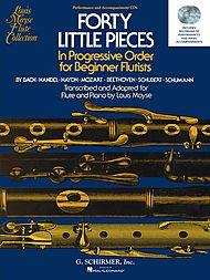 40 Little Pieces in Progressive Order for Beginner Flutists