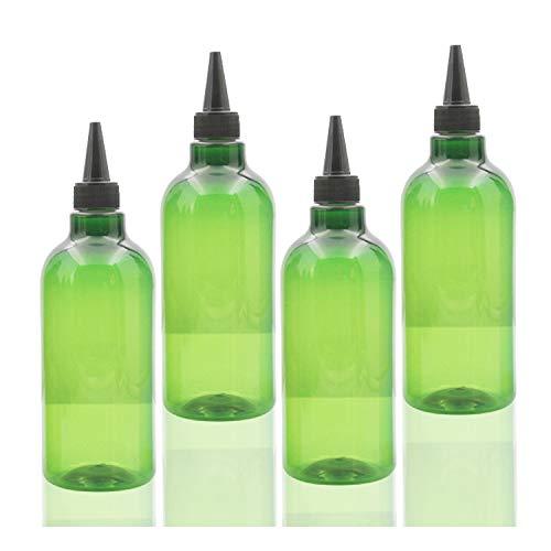 Amazon.com: YyZKO Botella de plástico PET de 500 ml de ...