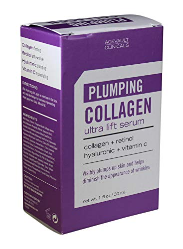 - Plumping Collagen Ultra Lift Serum with Retinol Hyaluronic Acid and Vitamin C