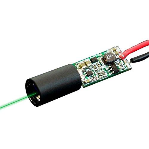 Quarton Direct Green Laser Module VLM-520-51 LPA (Non-DPSS Green Dot Laser Module: Operating Temperature Range : -4 °F ~ 140 ()