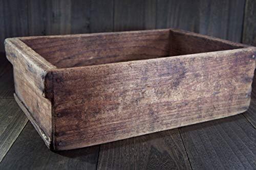 Ogu-087工具箱木製:キズ汚れ 昭和工具 動画toolbox時代物昭和レトロ蔵出掘出 アンコレ