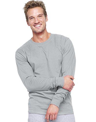 hanes-adult-beefy-t-long-sleeve-t-shirt-light-steel-90-10-xl