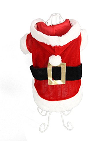Monkey Dogs Flying Costume Pattern For (Freerun Dog Puppy Pet Skirt Santa Claus Clothes Dress Costume Dog Outwear Coat Apparel - Clothes,)