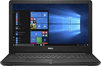"Newest_Dell_Inspiron 15.6"" HD 3000 Business Laptop PC Computer with Intel Celeron N4000 Processor, 4GB RAM, 500GB HD, Webcam, DVD R/W, HDMI, Bluetooth, Windows 10 Pro, Black"