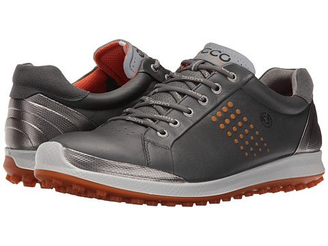 (エコー) ECCO メンズゴルフシューズ靴 BIOM Hybrid 2 [並行輸入品] B06ZYXMJ9Y 45 (US Men's 11-11.5) (n/a) D - M Dark Shadow/Orange