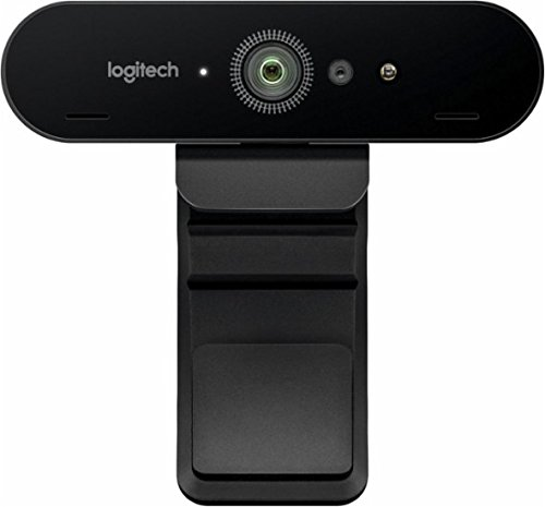 Logitech 4K Ultra HD Pro Webcam 5x Zoom 960-001178(Certified Refurbished) by Logitech