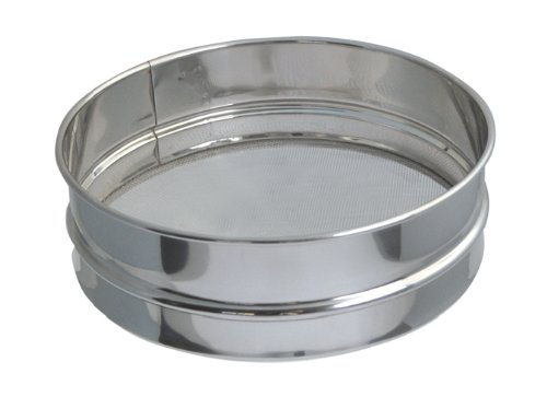 De Buyer 4604.30 Stainless Steel Strainer - Mesh: 0.8 mm, Diameter: 30 cm