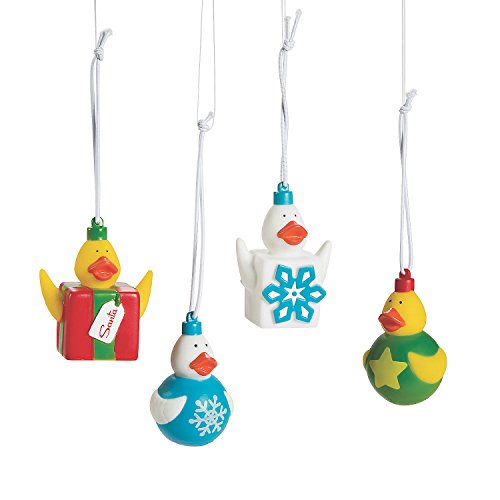 CusCus Christmas Ornaments Rubber Duckies