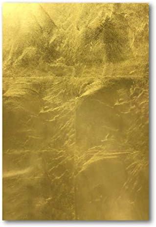 【日本製の金箔】EZGold 金箔シート (シール有 コート無)