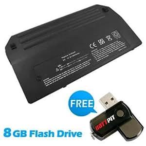 Battpit Bateria de repuesto para portátiles HP EliteBook 8530 (6600 mah) Con memoria USB de 8GB GRATUITA