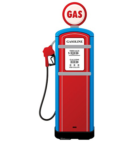 Gas Pump - Advanced Graphics Life Size Cardboard (Antique Gas Pump)