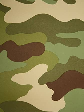Camouflage Wallpaper 105m Amazoncouk Toys Games