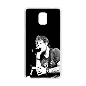 T-TGL(RQ) Samsung Galaxy Note 4 Cell Phone Case Ed Sheeran with Hard Shell Protection