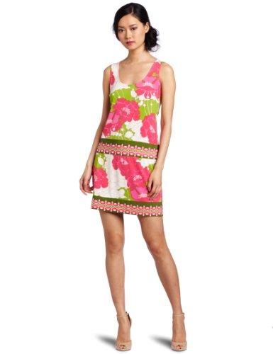 Ali Ro Women's Sleeveless Matt Jersey Printed Dress