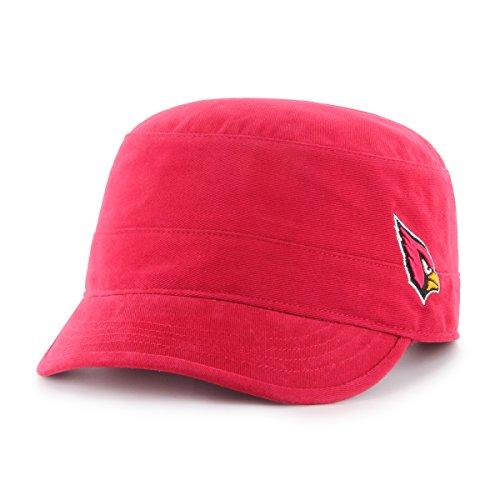NFL Arizona Cardinals Women's Shipmate OTS Cadet Military-Style Adjustable Hat, Dark Red, Women's