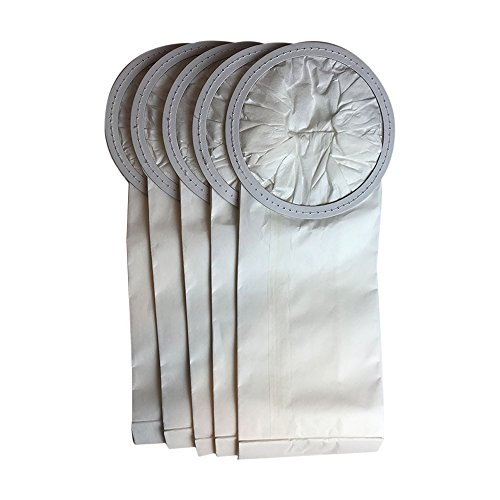 5 ProTeam Windsor Raven 6 QT Commercial Vacuum Bags Designed To Fit Proteam Windsor Raven Alpine ProVac TailVac 6 Quart Commercial Backpack Vacuums; Compare To Part # 100431, 450227, VFX100431ZP, 67-9-009-1, 62112, 612084, 450227 ; Designed & Engineered B by Crucial Vacuum