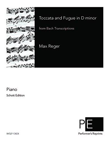Bach Transcriptions - Toccata and Fugue in D-minor BWV 565 For Piano solo - Score