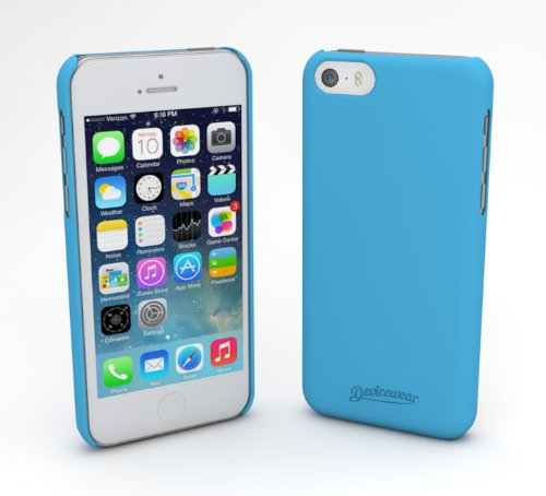 devicewear-metro-ultra-light-weight-hard-shell-soft-texture-case-for-iphone-5s-retail-packaging-blue