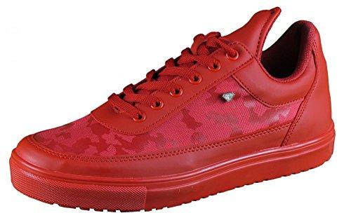 Herren Schuhe - Sneaker - Case Army Full Red - rot