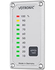Votronic Wskaźnik poziomu napełnienia zbiornika na wodę i zbiornik na wodę świeżą