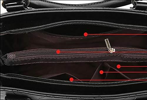 PU Mode Sacs Sacoche red Tout bandoulière à Big La Cuir à Sacs fourre Centrale croisés en d'unité LIGYM bandoulière 5aPq47wx1x