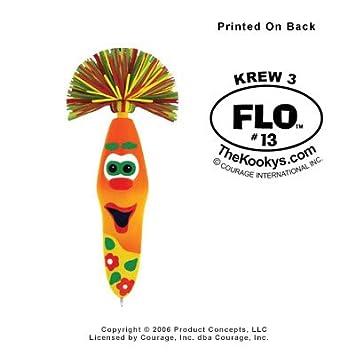 Amazon.com: Kooky Klicker bolígrafo llavero Krew 3 Flo re ...