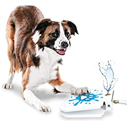GoodBoy Water Fountain for Dogs - Interactive Paw Pedal Design Stimulates Pets and Keeps Them Cool - New Durable Leak-Proof Dispenser - Keeps Furry Friends Healthy Happy and Hydrated!