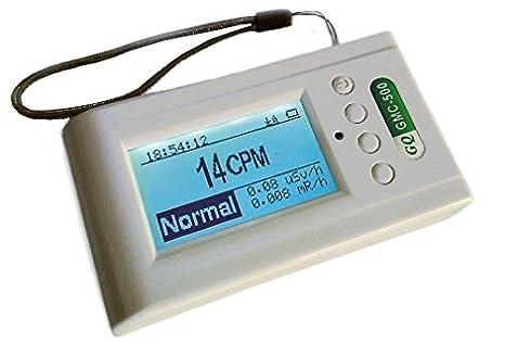 Contador Geiger GQ Electronics gmc-500 + Plus Detector radiación nucleares Medidor rayos X Beta Gamma Counter nuclear Radiation Detector Meter x ray: ...