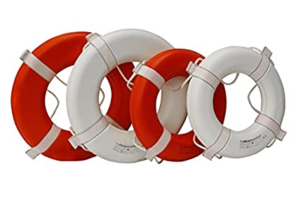 465863dd93c Amazon.com   Kemp 10-206-ORG 20 In. Coast Guard Approved Ring Buoy ...