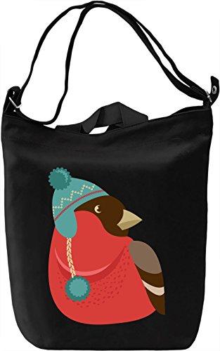 Birdy Borsa Giornaliera Canvas Canvas Day Bag| 100% Premium Cotton Canvas| DTG Printing|