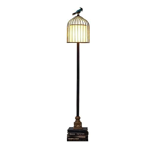 FDOI Lámpara de pie Americana Sala de Estar Dormitorio Lámpara de ...