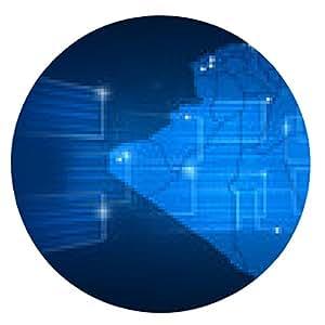 alfombrilla de ratón Argelia mapa Mapa del mundo azul Noticias Comunicación - ronda - 20cm