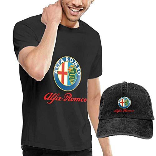 AOCCK Camisetas y Tops Hombre Polos y Camisas, Design Alfa Romeo ...