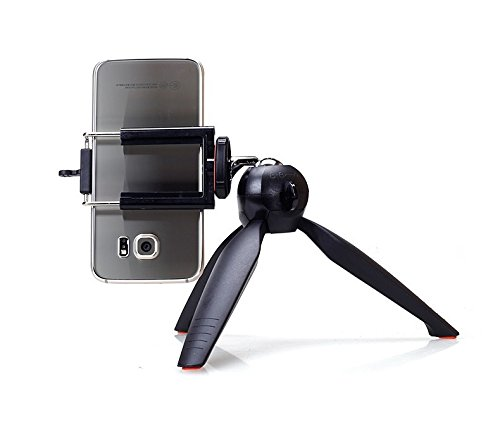 Unifree YT 1288 2 in 1 Adjustable Selfie-Stick-Monopod and YT 228 Mini-Tripod for Smartphones-Mobile & DSLR-Cameras with Bluetooth-Remote-Shutter