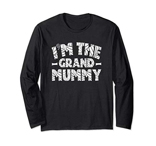 Halloween Grand Mummy Tomb Long Sleeve Shirt