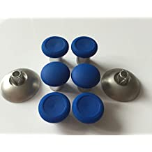 E-MODS GAMING® Blue Xbox One Elite Controller Replacement Swap thumbsticks (8pcs) w/ 2 standard magnets thumb sticks Fits for PS4 DualShock 4 & Xbox one Controller