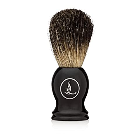Latherwhip Shaving Brush - Best Badger Hair Shave Brush with Resin Handle, 22mm Knot, and Stunning Gift - Best Shave